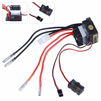 £9.63 • Buy Double Way 320A ESC Brush Motor Speed Controller And Fan For RC Car Boat Model