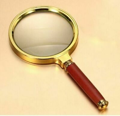 £3.99 • Buy Handheld Magnifying Glass 90mm 15x Magnifier Loupe Reading Jewelry Aid Big Large
