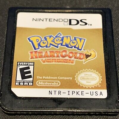 $125 • Buy Pokemon Heartgold Version Nintendo DS Cartridge Only AUTHENTIC