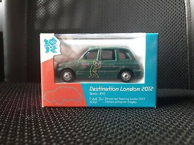 £3.99 • Buy Olympic Games London 2012 Diecast Corgi Toy Taxi - Tennis #10 - New & Boxed