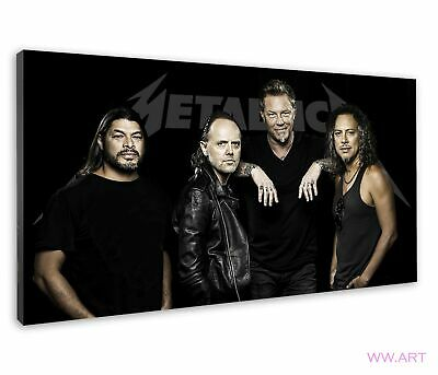 £38.99 • Buy World Famous American Heavy Metal Band Metallica Canvas Wall Art Picture Print