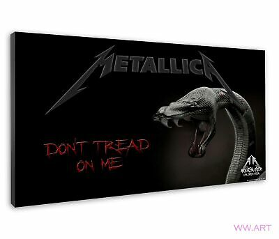 £38.99 • Buy Popular Metallica Song Don'T Tread On Me Album Art Canvas Wall Art Picture Print