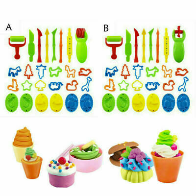 AU13.89 • Buy 26PCS Fun Kid For Play Doh Tool Set Dough Mould Mold Toy Cutter Modelling Craft
