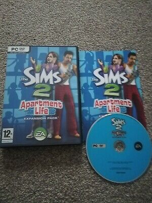 £13.99 • Buy The Sims 2:apartment Life *complete Pc Dvd Rom*