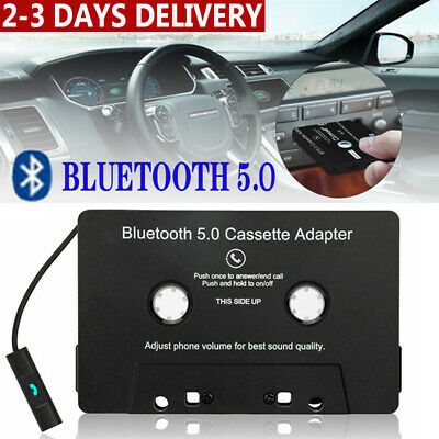 £13.95 • Buy Bluetooth 5.0 Car Cassette Tape Adapter Converter For MP3 IPhone IPod Car Audio