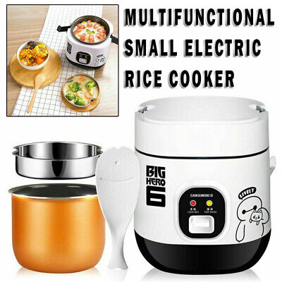 AU44.99 • Buy Portable Mini Electric Rice Cooker 1.2L Small Rice Cook 3 Cups Fit 1-2 Person