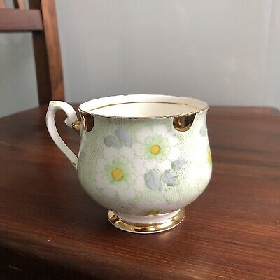 £24 • Buy Art Deco Thomas Forester & Sons Phoenix Flower Floral Gold Cup Made England