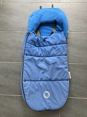 £29.99 • Buy Bugaboo Toggle Universal Footmuff Royal Blue Cosy Toes For Bee Fox Cameleon Etc