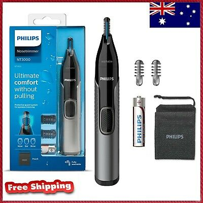 AU29.99 • Buy Philips Series 3000 Nose Ear Eyebrow Hair Trimmer Shaver/Comb Washable NT3650/16