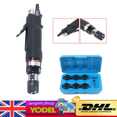 £125.01 • Buy Air Pneumatic Tapping Machine Air Drill Tapper Tool With 6 X Chucks M3-M12 UK