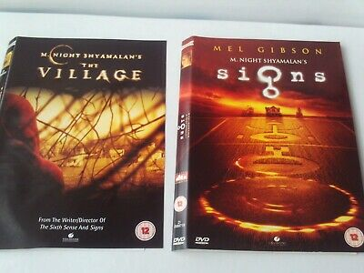 £1.80 • Buy The Village & Signs 2 X DVD M. Night Shymalan - Disc & Cover Only - No Case