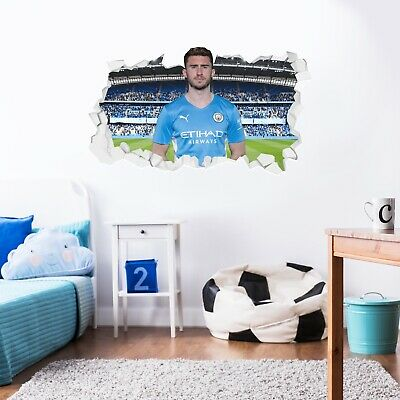 £19.99 • Buy Official Manchester City Wall Sticker - Aymeric Laporte 21/22 Broken Wall Decal