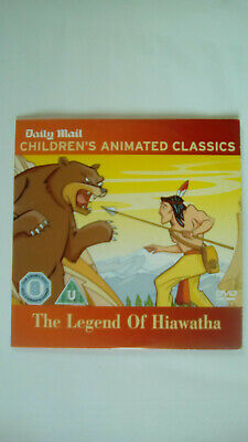 £2.99 • Buy Childrens Animated Classics The Legend Of Hiawatha Daily Mail Promo DVD