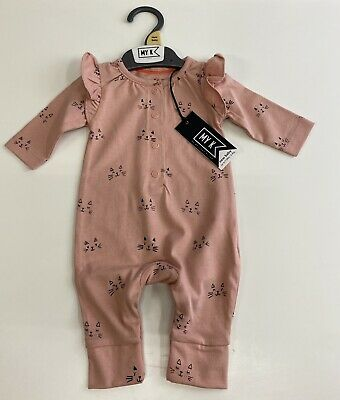 £5.90 • Buy BNWT Mothercare My K Baby Girls Romper All In One Cats Babygrow Trousers Outfit