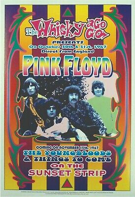 $18.95 • Buy Pink Floyd 13  X 19  Reproduction Concert Poster Archival Quality