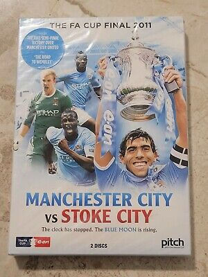 £10.95 • Buy The FA Cup Final 2011 Manchester City V Stoke City DVD **NEW & SEALED**