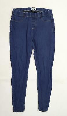 £8 • Buy Dorothy Perkins Womens Blue  Denim Flared Jeans Size 14 L28 In