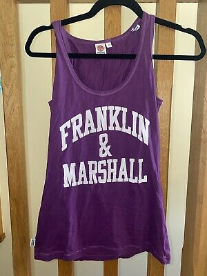 £9 • Buy Purple Franklin And Marshall Vest Size S