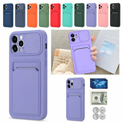 AU9.26 • Buy Phone Case For IPhone 12 11 Pro Max XS X 8 7 6 Plus SE2 Wallet Card Holder Cover