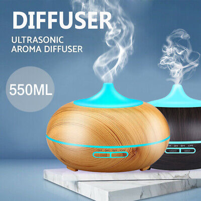 AU9.90 • Buy Ultrasonic Aroma Aromatherapy Diffuser LED Essential Oil Air Humidifier Purifier