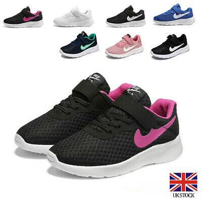 £9.54 • Buy Girls Boys Running Trainers Lightweight School Sports Shoes Kids Sneakers Size
