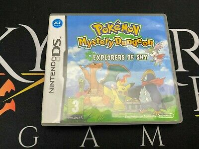 $86.52 • Buy Pokemon Mystery Dungeon Explorers Of Sky - Nintendo DS (TESTED) UK PAL