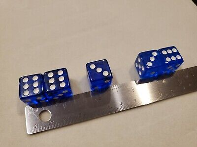 £436.46 • Buy **NEW** Loaded Dice Weighted 2/3/6 Passers With 145 Buster Clear Blue Dice 16mm