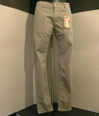 £20.35 • Buy ALTERNET Trousers Man/Boy Model Cinos Mud Colour Cotton Blend New Tag Size
