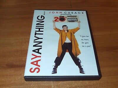 AU7.66 • Buy Say Anything (DVD, 2009, 20th Anniversary, Widescreen Edition)