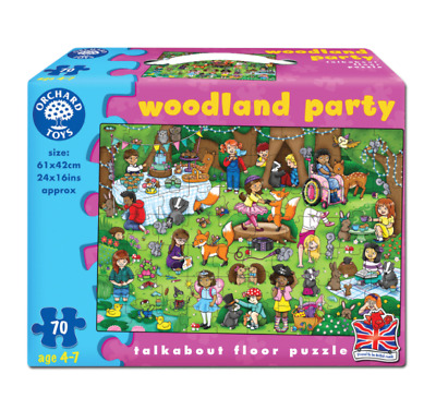 £11.25 • Buy Orchard Toys - 269 - WOODLAND PARTY