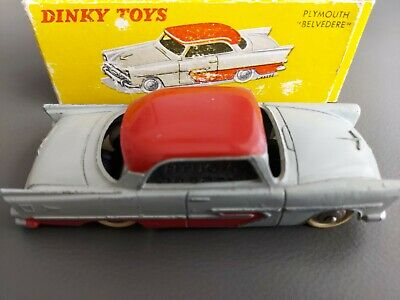 £80 • Buy French Dinky Model 24 D Pymouth  Belvedere 2 Tone Original Condition