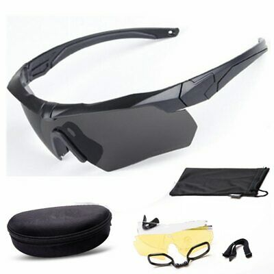 AU25.33 • Buy NEW Bulletproof Glasses Outdoor Tactical Shooting Riding Mountaineering Goggles