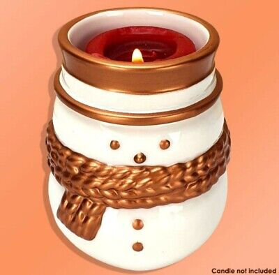 £7.99 • Buy 1 X Official Yankee Snowman Votive Candle Holder
