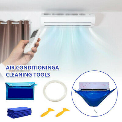 AU30.89 • Buy Wall Mounted Air Conditioning Cleaning Bag Split Air Conditioner Washing Cover-