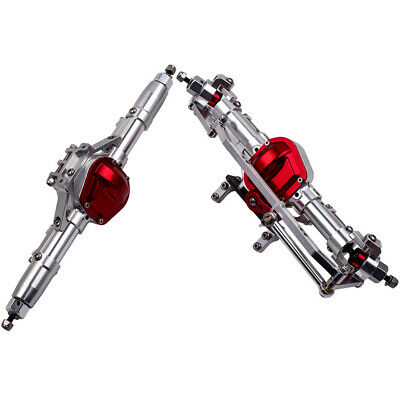 £63.97 • Buy Rock Car Front & Rear Axle With Steel Gear CNC For 1:10 RC Crawler AXIAL SCX10
