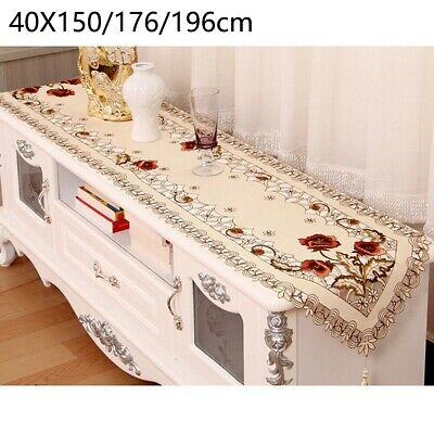 AU18.23 • Buy Lace Tablecloth Dining Decor Decoration Decorative Christmas Table Runner