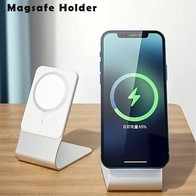 AU12.24 • Buy MagSafe Bracket Stand Holder Wireless Magnetic Charger Base Desk For IPhone 12