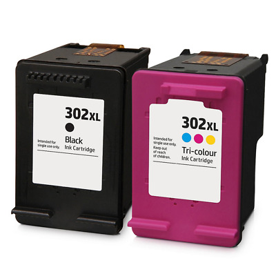 £25.95 • Buy HP 302 Black / Colour XL Combo Remanufactured Ink Cartridges For Envy 4520