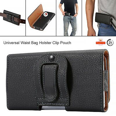 £3.44 • Buy Case For All Samsung Galaxy Magnetic Waist Pack Fanny Belt Clip Bag Mobile Pouch