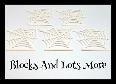 £2.99 • Buy NEW LEGO - 5 X White Spider Webs Halloween Scary Pieces Accessories Part 90981