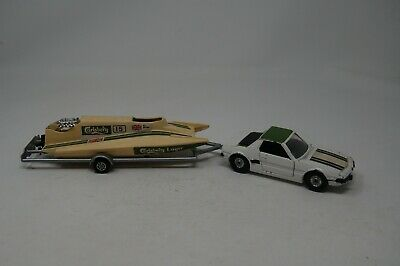 £14.99 • Buy Vintage Corgi Fiat Xi/9 With Power Boat And Trailer...rare