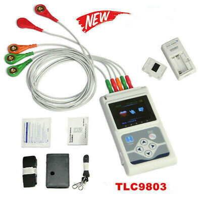 £230 • Buy CONTEC TLC9803  24 Hours 3 Channel ECG/EKG Holter Monitor System USB Software CE