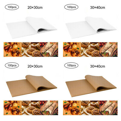£9.26 • Buy 100X Non-Stick Food Wrapping Wax Paper Sandwich Candy Wrap Paper Wedding Party