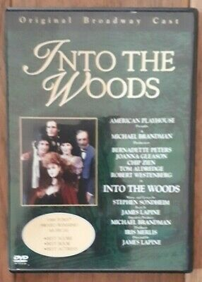 £3.29 • Buy INTO THE WOODS - Musical - 1990/2000 Sony/Image - Region 0 Dvd - Vgc