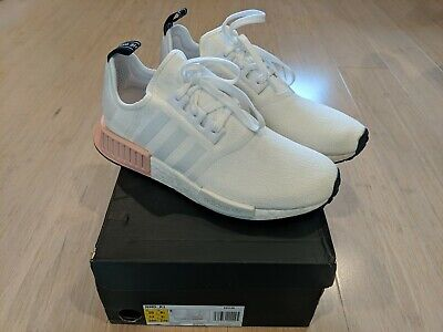 AU110 • Buy Adidas NMD R1 White Pink Salmon Mens Sneaker Shoe Size US 10 BRAND NEW