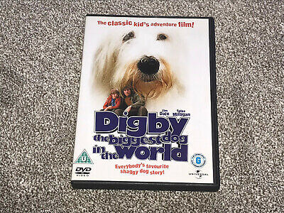 £16.95 • Buy DIGBY - The Biggest Dog In The World : JIM DALE SPIKE MILLIGAN DVD (FREE UK P&P)
