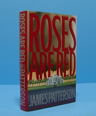 £9.64 • Buy Roses Are Red By James Patterson, Signed-inscribed-personalized