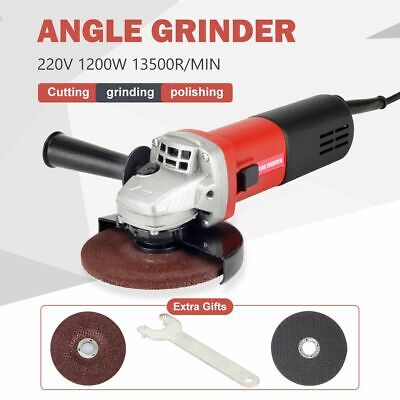 £36.99 • Buy 1200W Electric Angle Grinder Cutting Grinding Sand Power Tool 125mm Disc Cut Kit