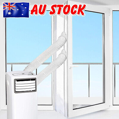 AU24.89 • Buy 300CM Portable Air Conditioner Window Seal Vent Kit Sealing Cloth 2 Openings AUS