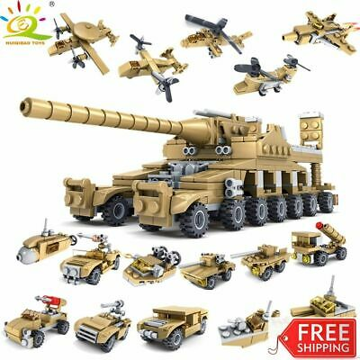 £26.26 • Buy 544PCS 16in1 Military Tank Building Blocks Army Vehicle Helicopter Army Kid Toys